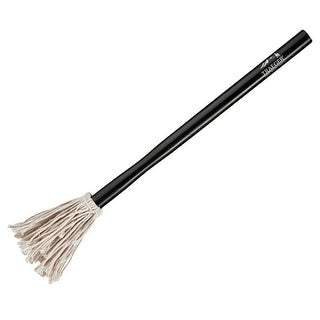 "Traeger BAC271 Wood Handle Basting Mop, Black, 14"""