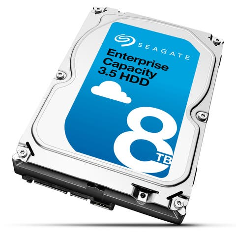 Seagate Technology ST8000NM0075 Seagate ST8000NM0075 8 TB 3.5 Internal Hard Drive - SAS - 7200 - 256 MB Buffer