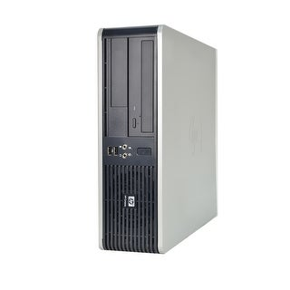 HP Compaq DC7900-SFF Core 2 Duo 3.16GHz 4GB RAM 160GB HDD DVD Windows 10 Pro PC (Refurbished)
