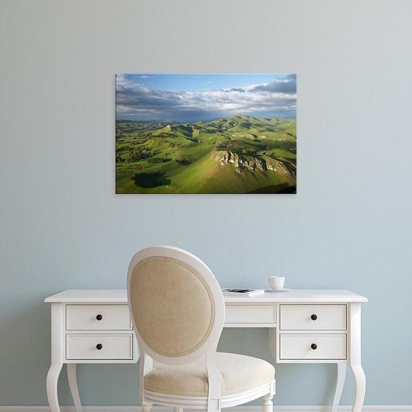 Easy Art Prints David Wall's 'Aoraki Mount Cook' Premium Canvas Art