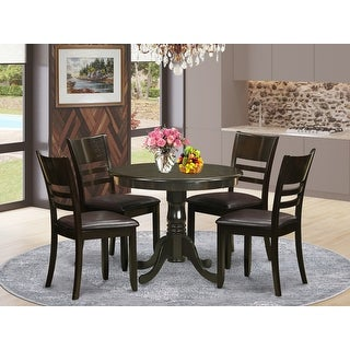 Link to 5-Piece Kitchen Table Set and 4 Dinette Chairs Similar Items in Dining Room & Bar Furniture