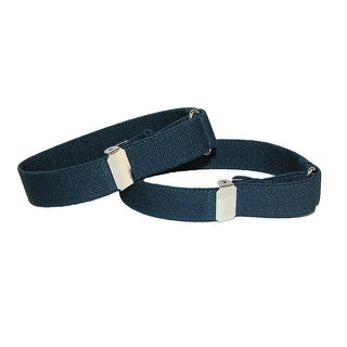 CTM® Elastic .75 Inch Wide Solid Color Adjustable Sleeve Garter - One Size
