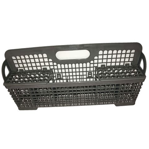 NEW OEM KitchenAid Silverware Utensil Bin Basket Originally Shipped With KUDP01ILWH1, KUDS03STBL3, KUDS03STSS3