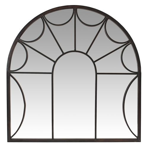 Aspire Home Accents 5958 Carlita Arched Window Wall Mirror