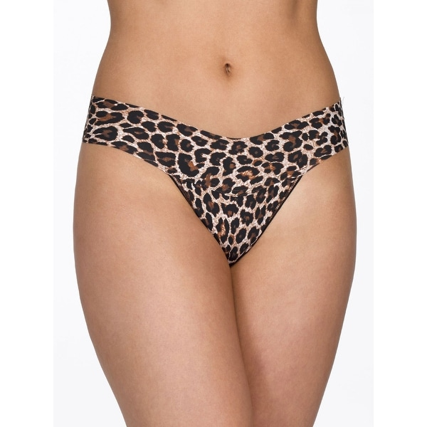 cb678d076b Shop Hanky Panky Women s Leopard Bare Eve Natural Rise Thong - Free  Shipping On Orders Over  45 - Overstock - 19744162