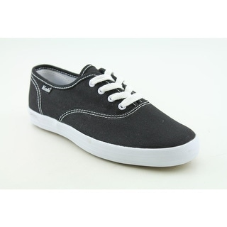 Keds Champion CVO Youth Round Toe Canvas Black Fashion Sneakers