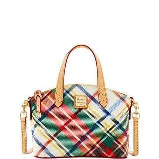 Dooney & Bourke DB Plaid Jacquard Ruby (Introduced by Dooney & Bourke at $158 in Nov 2016) - Cream