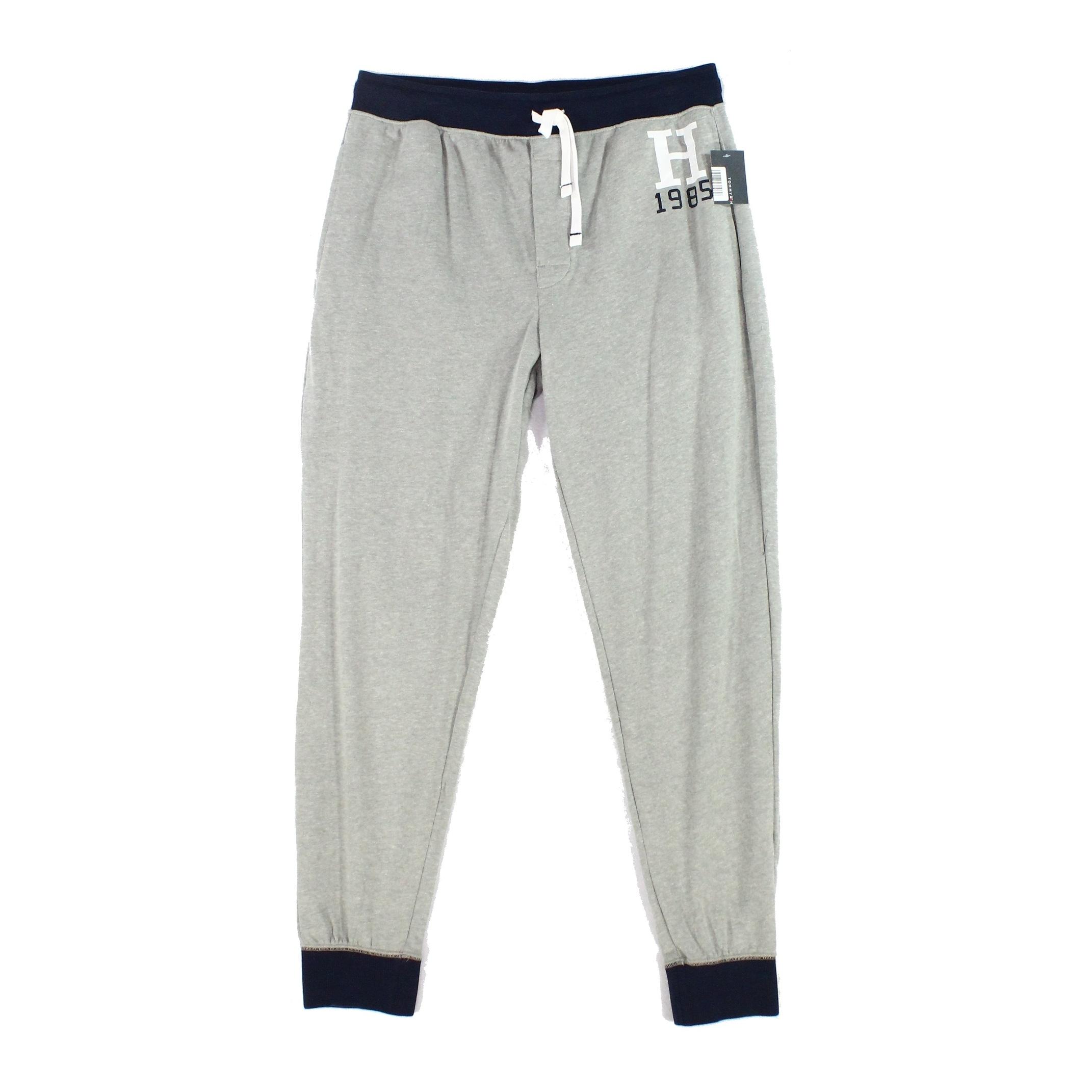 Tommy Hilfiger Mens Jersey Sleep Lounge Pant Pajama Bottom