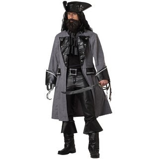 California Costumes Blackbeard, The Pirate Adult Costume - Grey (3 options available)