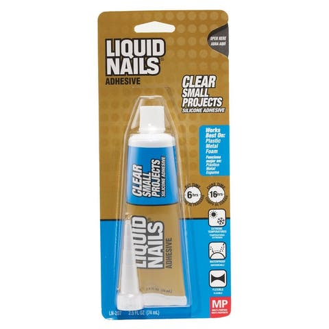 Liquid Nails LN-207 Small Projects Multi-Purpose Adhesive, 2.5 Oz.