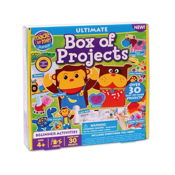Made By Me Junior Ultimate Box of Projects - Over 30 Projects Included