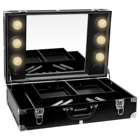 SHANY Studio To Go Tabletop Mirror Makeup Station with Dimmable Lights