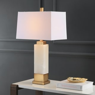 """Link to Safavieh Lighting 30-inch Rozella LED Table Lamp - 17""""x11""""x29.5"""" Similar Items in Table Lamps"""
