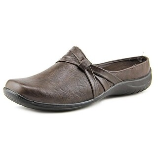 Easy Spirit Ease N/S Round Toe Synthetic Mules