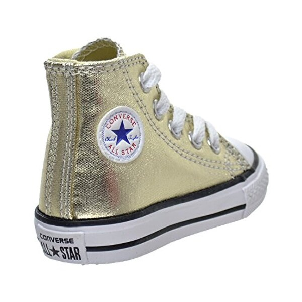 Converse All Star Metalic Shoes Light Gold (With images