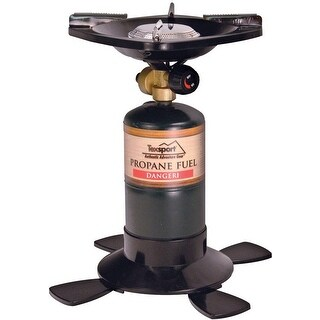 Texsport 14213 Single Burner Propane Stove, 10,000 BTU