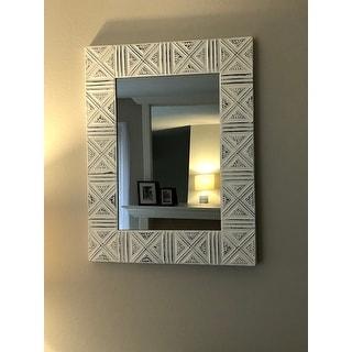 "The Gray Barn Pollyanna Wall Mirror - 30""H x 23""W x 1.5""D (Mirror only: 21""H x 14""W)"