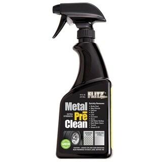 Flitz-Metal Preclean 16 Oz Spray Bottle Metal Preclean 16 Oz Spray Bottle
