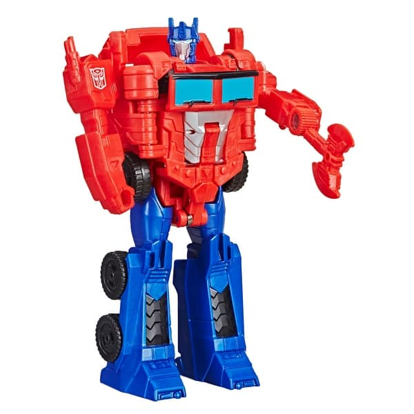 Shop Black Friday Deals On Transformers Cyberverse Action Attackers 1 Step Changer Optimus Prime Action Figure Toy Overstock 30318450