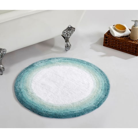 Better Trends Torrent Collection Cotton Tufted Bath Mat Rug