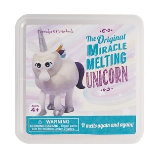 Miracle Melting Kits - Sparkling Unicorn Putty Sculpture - MultiColor