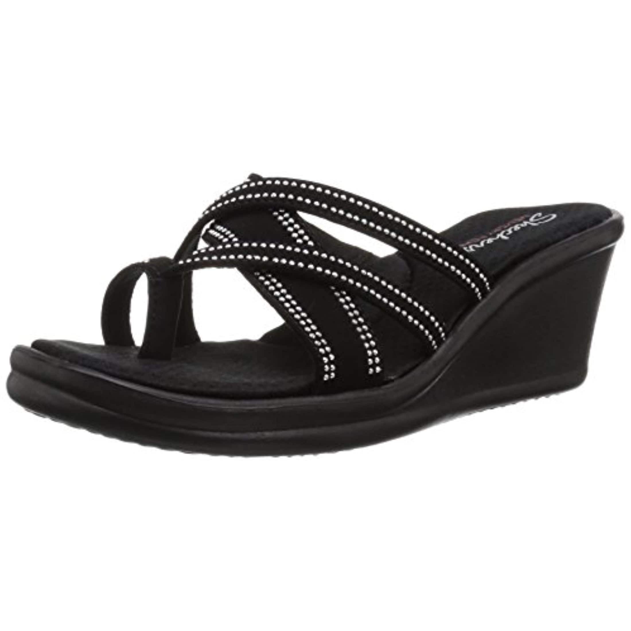 skechers memory foam womens sandals