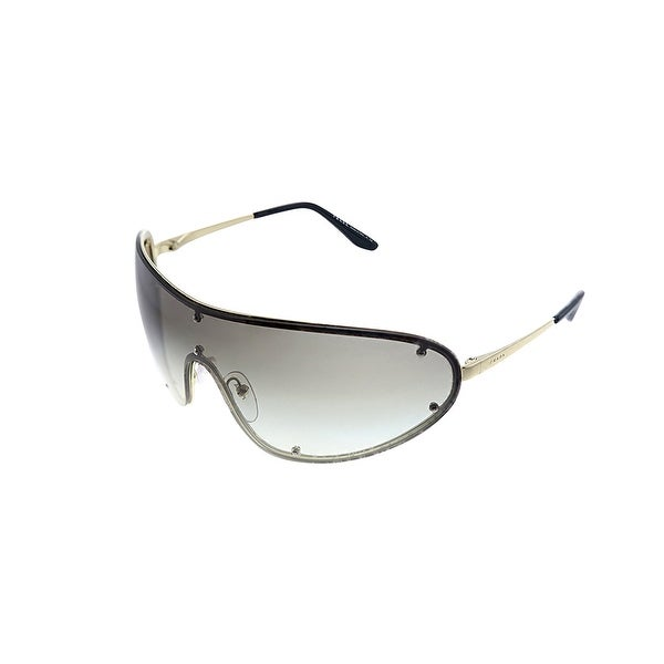 Prada PR 73VS ZVN0A7 40mm Womens Gold Frame Grey Gradient Lens Sunglasses. Opens flyout.