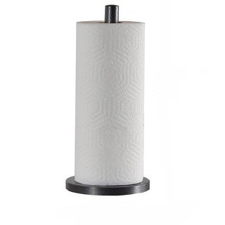 Link to Laura Ashley Speckled Paper Towel Holder in Grey Similar Items in Kitchen Storage