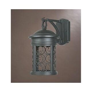 "Designers Fountain 31111-ORB 1 Light 7"" Wall Lantern from the Dark Sky Barrington Collection"