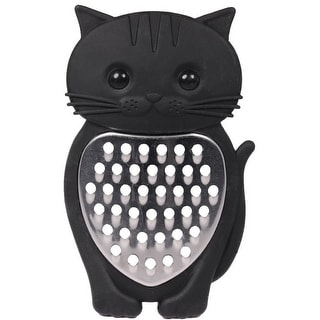 Black Kitty Cat Sweet Face Cheese or Vegetable Grater Kitchen Tool