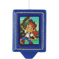 """Jake And The Never Land Pirates - Candle 3"""" 1/Pkg"""