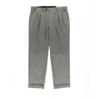 Lauren Ralph Lauren Mens Wool Blend Double Pleat Dress Pants