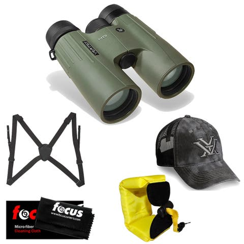 Vortex Optics10x42 Viper HD Binocular w/ Hat, Harness & Accessory Kit