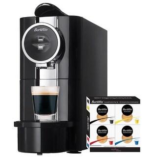 Koolatron Barsetto BARS-CKIT Espresso Machine with 20 capsule sampler pack - Black