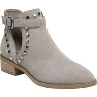 Carlos by Carlos Santana Women's Blake Bootie Light Doe Suede