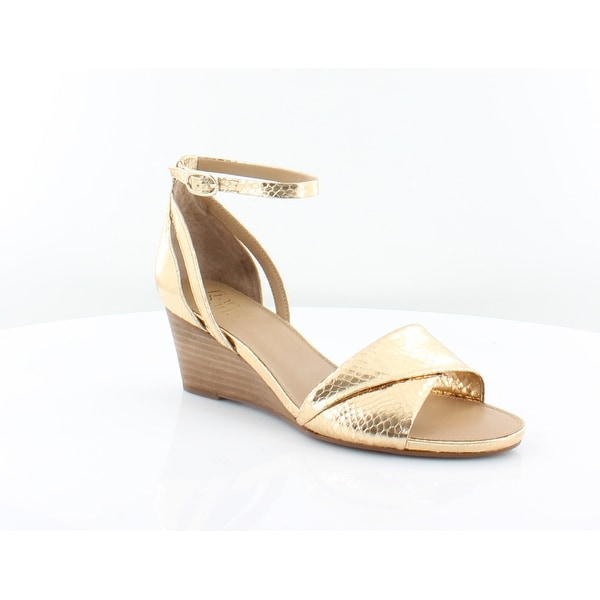 845fff5abd27 Shop Franco Sarto Deirdra Women s Sandals Gold - 7.5 - Free Shipping ...