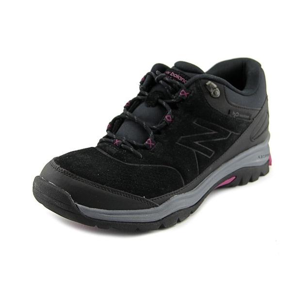 New Balance WW779 Women Round Toe Suede Black Sneakers