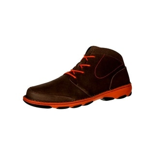Rocky Outdoor Boots Mens Cruiser Casual Chukka Leather Brown RKS0206