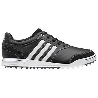 Adidas Men's Adicross III Black/Black/Running White Golf Shoes Q46788/Q46998 (Medium Width)