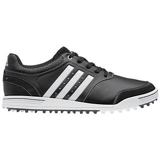 Adidas Men's Adicross III Black/Black/Running White Golf Shoes Q46788/Q46998 (Medium Width)