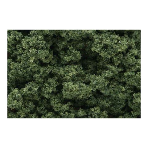 Woodland scenics wsfc58 foliage clusters medium green cluster