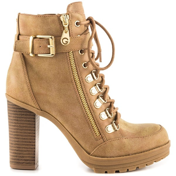 G by Guess Womens Grazzy2 Closed Toe Ankle Fashion Boots - 10