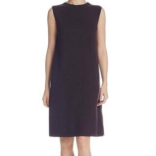Eileen Fisher NEW Purple Women Size Small S Sleeveless Knit Shift Dress
