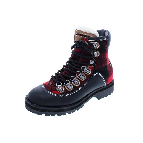 3f08e7461b12 Shop Tommy Hilfiger Womens Tonny 2 Winter Boots Cold Weather Plaid
