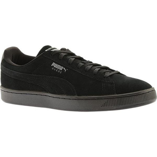 a63758c0 Shop PUMA Men's Suede Classic Anodized Sneaker Puma Black/Puma Black ...