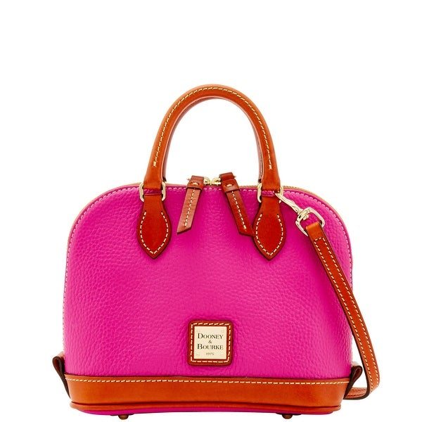 Dooney & Bourke Pebble Grain Bitsy Bag (Introduced by Dooney & Bourke at $178 in Apr 2016) - Magenta