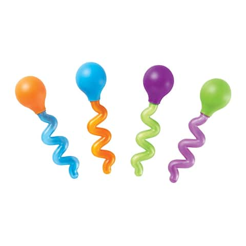 Learning Resources Twisty Droppers, Set of 4