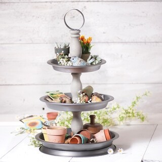 Irvin's Country Tinware 3 Tier Organizer
