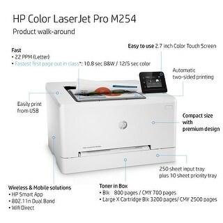 HP Color LaserJet Pro M254dw Laser Printer