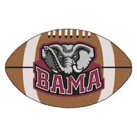 "Alabama Secondary logo Football Rug 22""x35"""